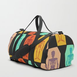 Colorful skeletons Duffle Bag