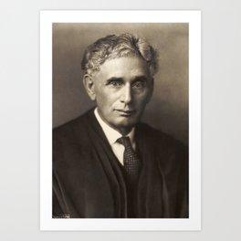 Louis Brandeis Art Print