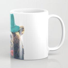 Funny Bear Illustration Coffee Mug