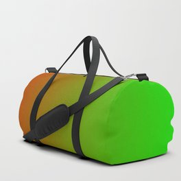 Traffic light red yellow green ombre flames Duffle Bag