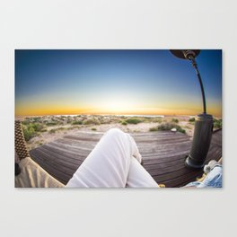 Relaxation Station Canvas Print