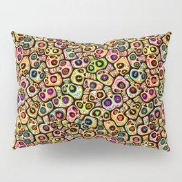 Calaveras del Día de los Muertos. Pillow Sham