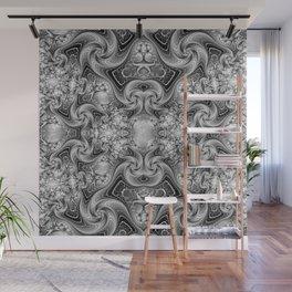 Silvery Cat's Eye Gemstones Wall Mural