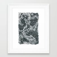 solid Framed Art Prints featuring Solid by Ney Orion