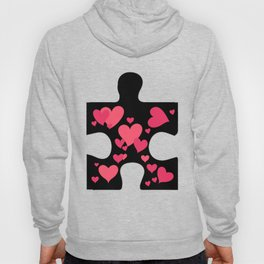 Love Autism Awareness Gift Hoody