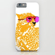 Cheetah with sunglasses on Slim Case iPhone 6s