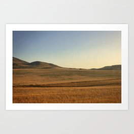 Sunrise over Andalucia, Spain Art Print