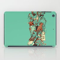 zombies iPad Cases featuring Zombies by SarahRobbins
