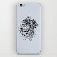 leo iPhone & iPod Skins featuring Leo by Daniac Design