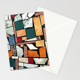 Outside the Barbershop Stationery Cards