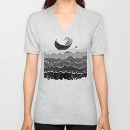 Death At Sea Unisex V-Neck