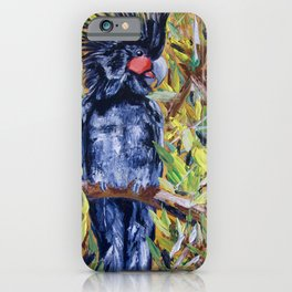 Palm Cockatoo iPhone Case