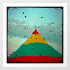 Circus Birds Art Print