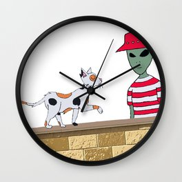 Jimmy and the Stray Wall Clock