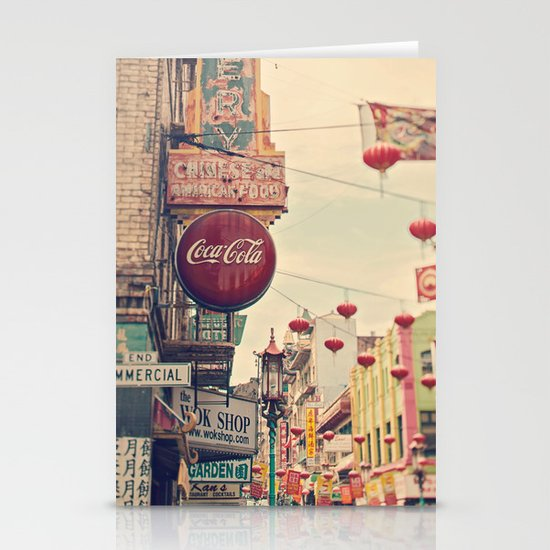 Chinatown (San Francisco) Stationery Cards