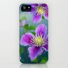 Fabulous flowers iPhone Case