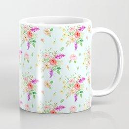 Watercolor Rose pattern Coffee Mug