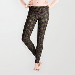 Bronze Mermaid Scales Leggings
