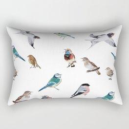 I love birds Rectangular Pillow