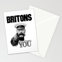 Britons Your Country Needs You - Lord Kitchener Stationery Cards