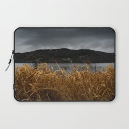 Storm Rolling In - Crystal Lake, Barton VT Laptop Sleeve
