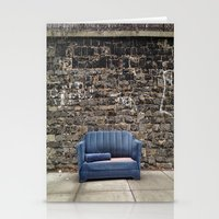 sofa Stationery Cards featuring sofa free by danielle marie