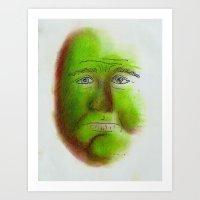 grumpy Art Prints featuring Grumpy by Stro