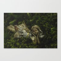 fairy Canvas Prints featuring Fairy by Mark Spence