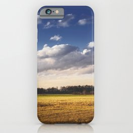 Waiting for the first snow iPhone Case