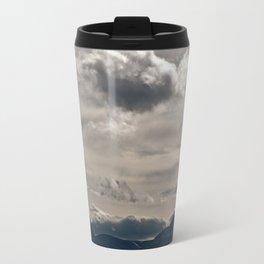 Clouds rolling over Travel Mug