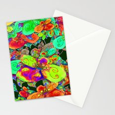 FLOWERS FEAST FRUITS COLORS Stationery Cards