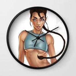 Tomb Raider - Joanie Brosas Wall Clock