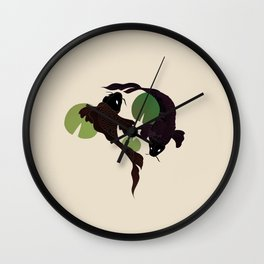 Fishes on the Wall Wall Clock