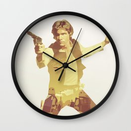 Going Somewhere Solo Wall Clock