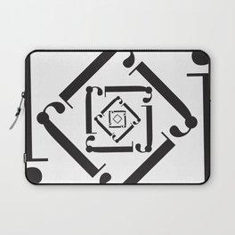 "Dizzy - The Didot ""j"" Project Laptop Sleeve"