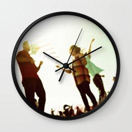 Kiteflying Wall Clock