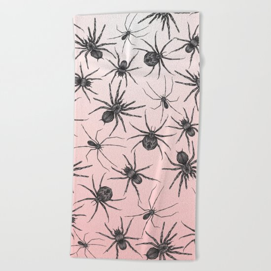 Spiders Beach Towel