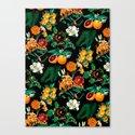 Fruit and Floral Pattern by burcukorkmazyurek