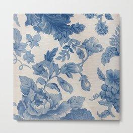 Floral V3 Metal Print