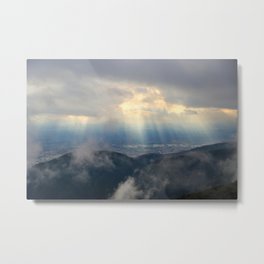 Heaven Descending Metal Print