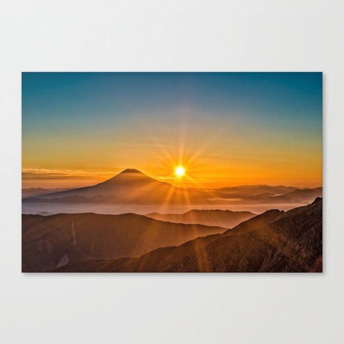 Mt Fuji II Canvas Print