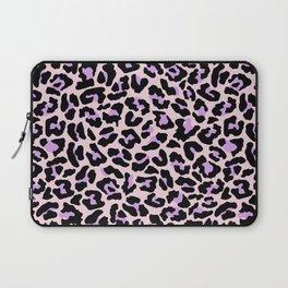 Pastel leopard fur II Laptop Sleeve