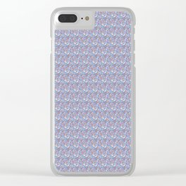 Desert Feathers Clear iPhone Case