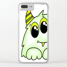 Spidey Mini Me Clear iPhone Case