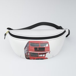 London UK - The Red Bus Fanny Pack