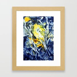 BlueHour Framed Art Print