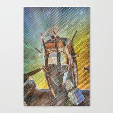 Armed Defender Canvas Print