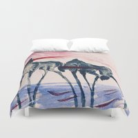 ford Duvet Covers featuring Ford by DogoD Art