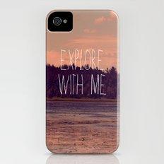 Explore With Me iPhone (4, 4s) Slim Case