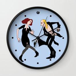 The Transylvanian Twist Wall Clock